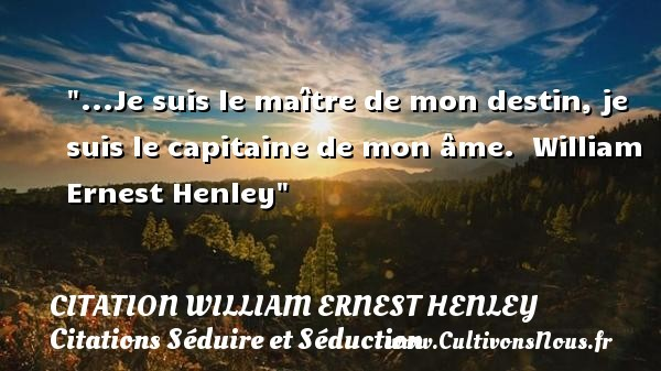 citation william ernest henley