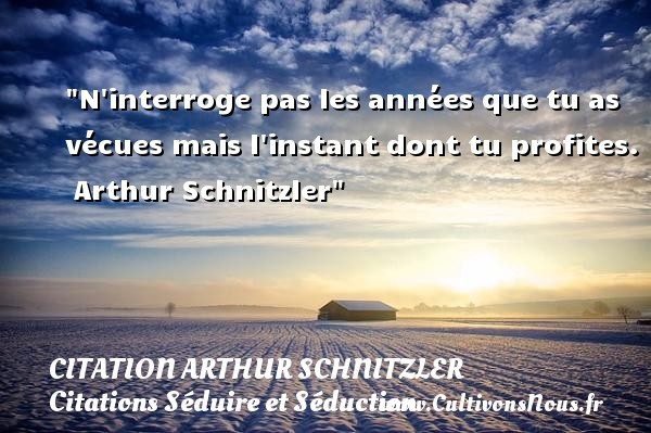 citation arthur schnitzler