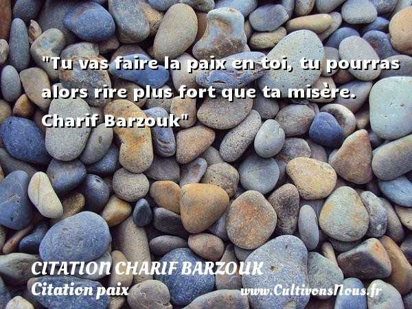 citation charif barzouk