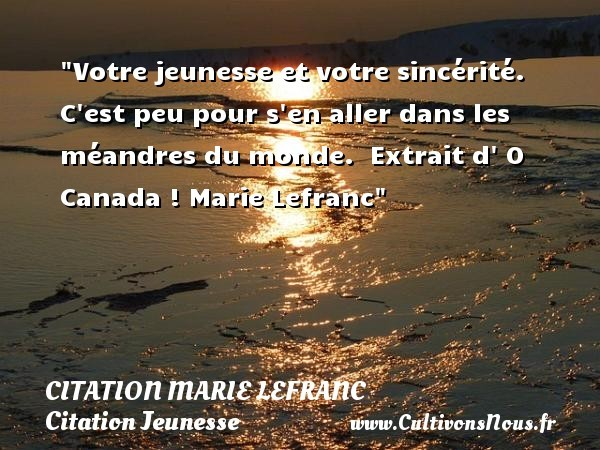 citation marie lefranc