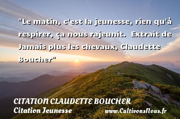 citation claudette boucher