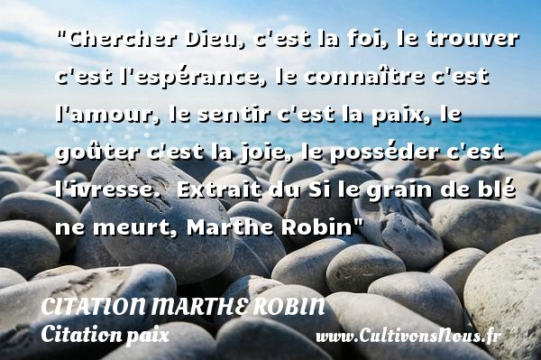 citation marthe robin