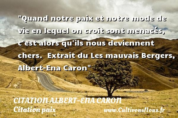 citation albert-ena caron