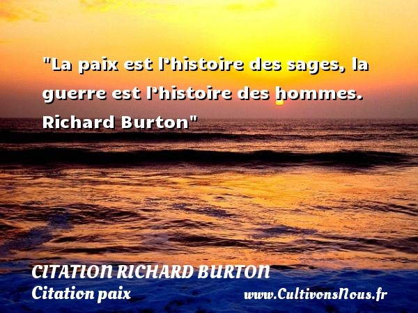 citation richard burton