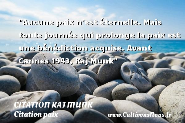 citation kaj munk