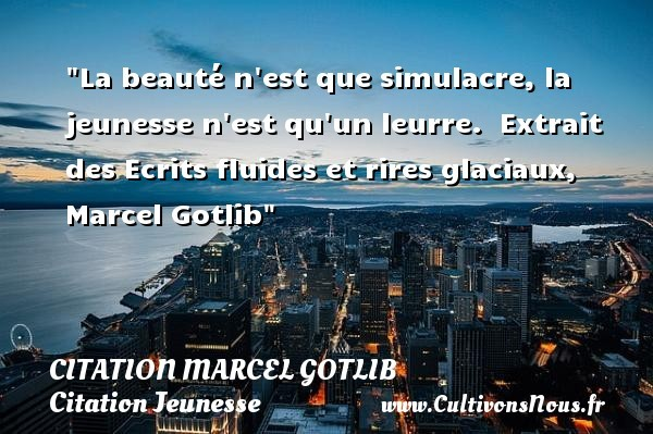 citation marcel gotlib