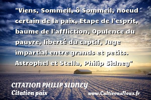 citation philip sidney