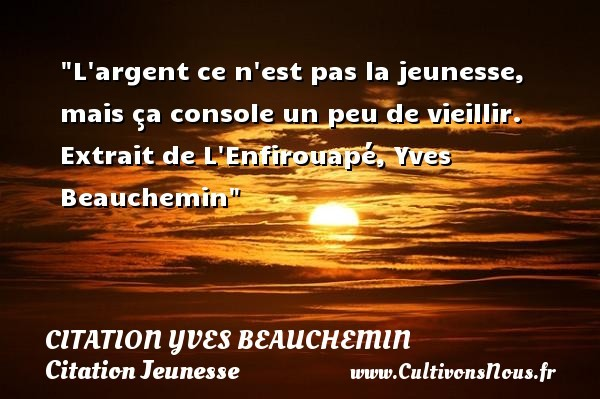 citation yves beauchemin