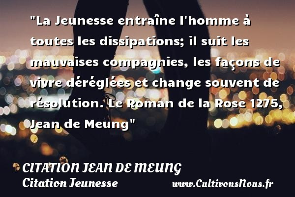 citation jean de meung