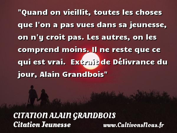 citation alain grandbois
