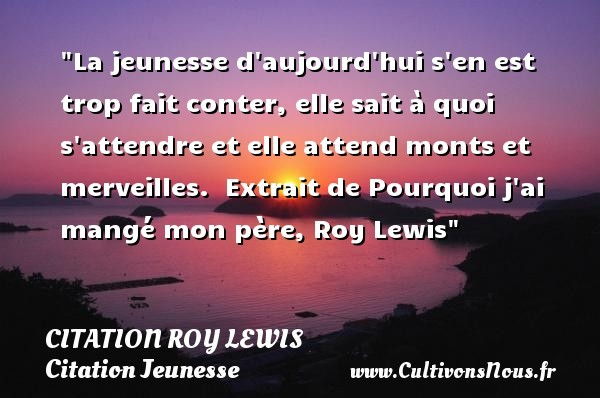 citation roy lewis