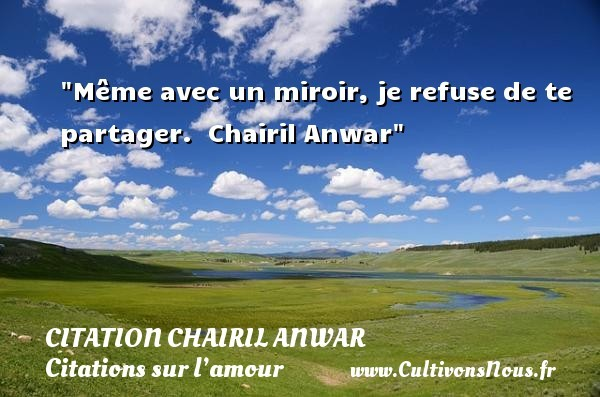 citation chairil anwar