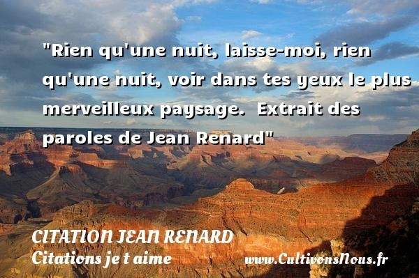 citation jean renard
