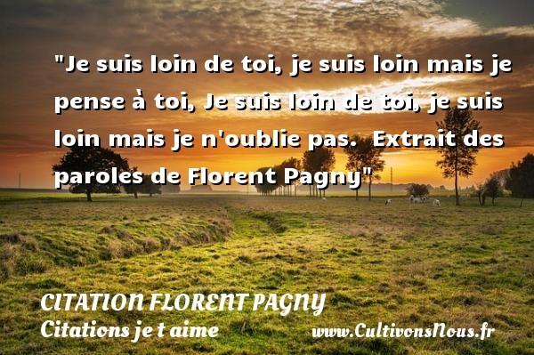 citation florent pagny