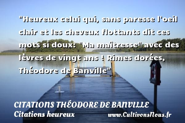 citations théodore de banville