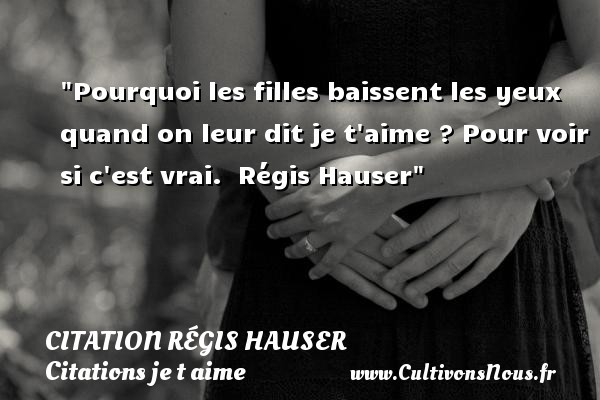 citation régis hauser