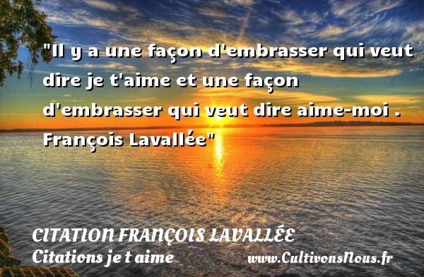 citation françois lavallée