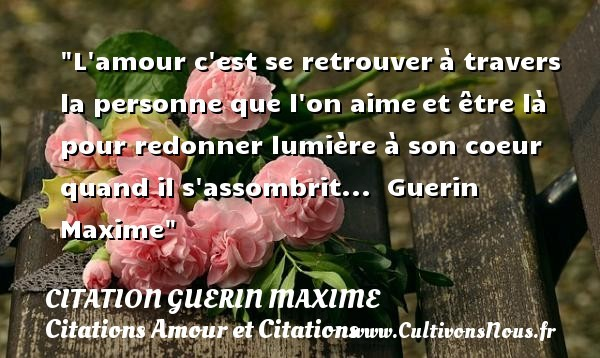 citation guerin maxime