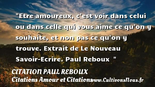 citation paul reboux