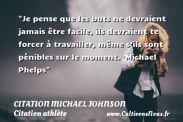 citation michael johnson