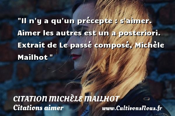 citation michèle mailhot