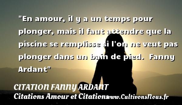 citation fanny ardant