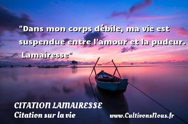 citation lamairesse