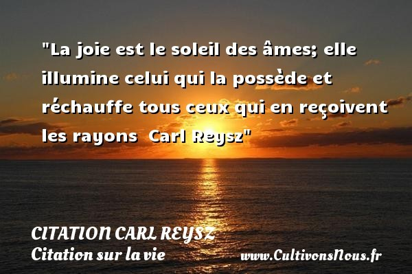 citation carl reysz