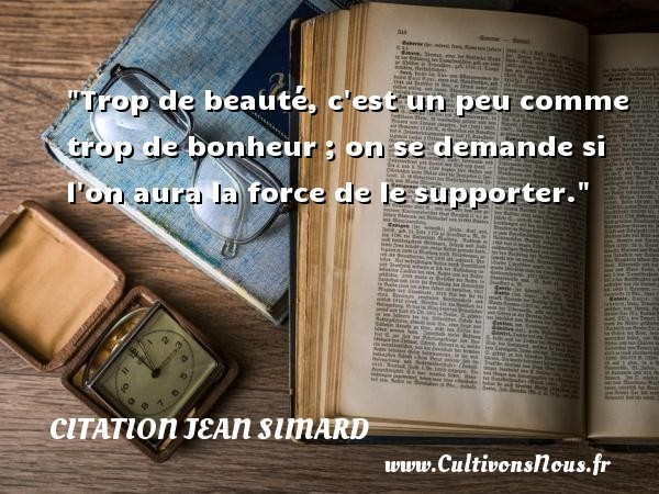 citation jean simard