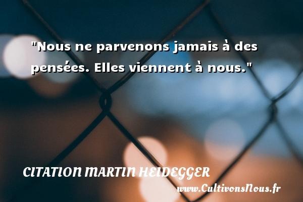 citation martin heidegger