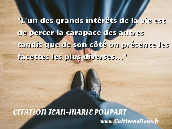 citation jean-marie poupart