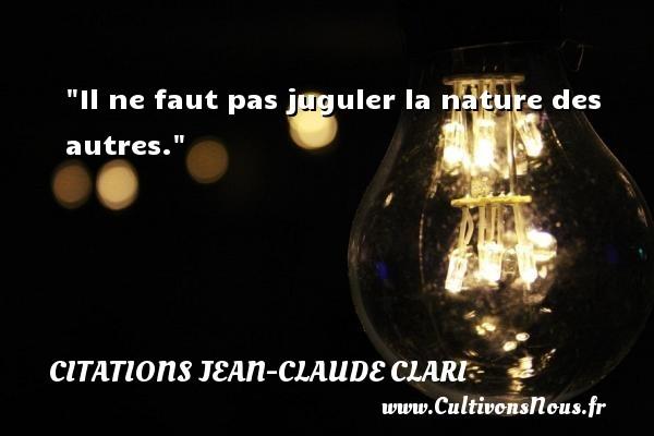 citations jean-claude clari