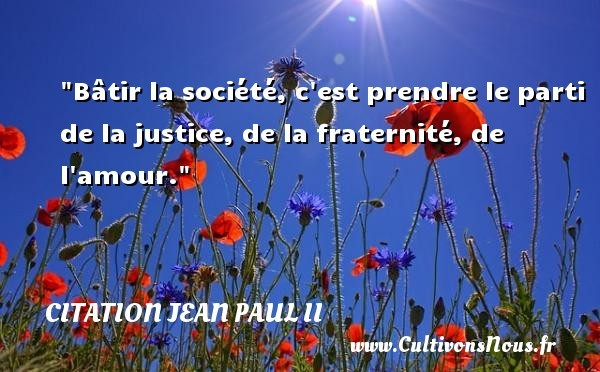 citation jean paul ii