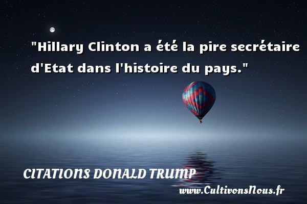 citations donald trump