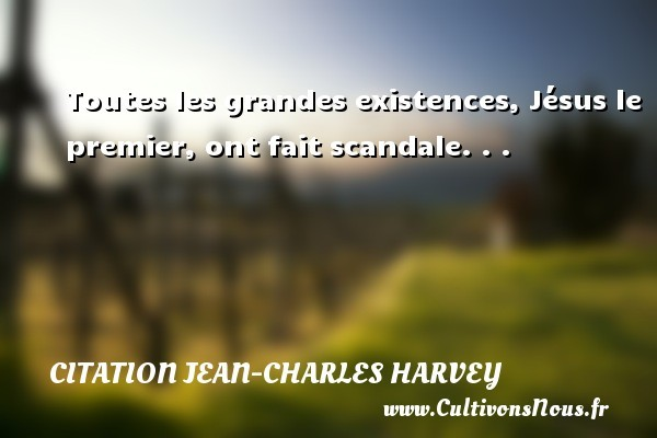 citation jean-charles harvey