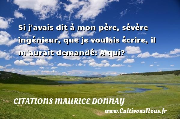 citations maurice donnay