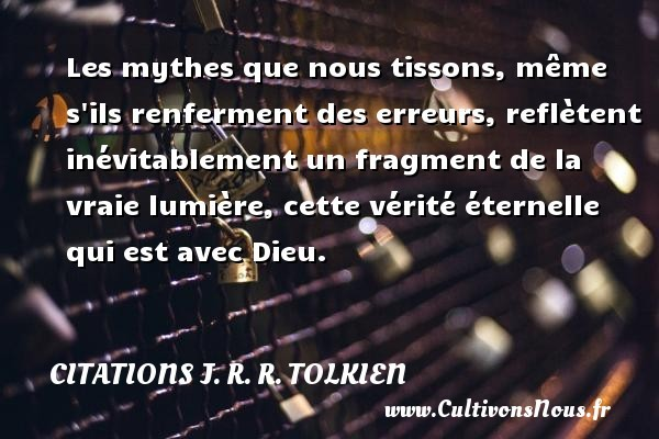 citations j. r. r. tolkien
