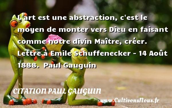 citation paul gauguin