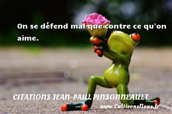 citations jean-paul pinsonneault