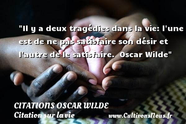 citations oscar wilde