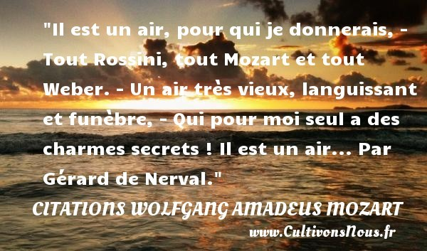 citations wolfgang amadeus mozart