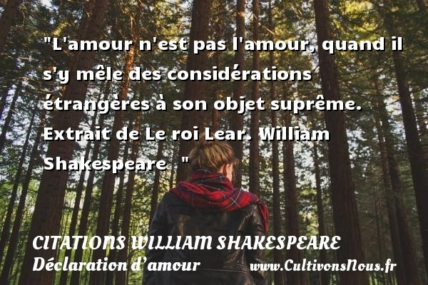 citations william shakespeare