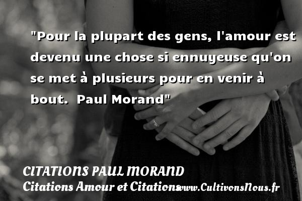 citations paul morand
