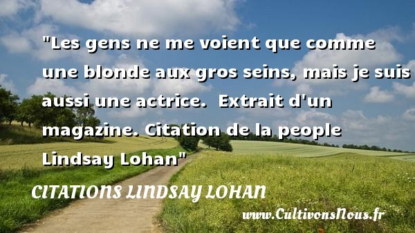 citations lindsay lohan