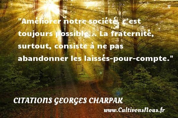 citations georges charpak