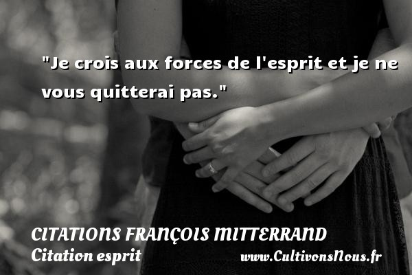 citations françois mitterrand