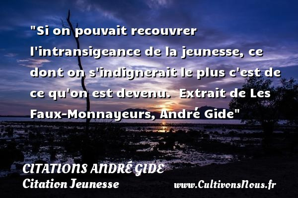 citations andré gide
