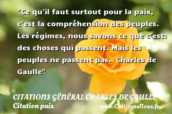 citations général charles de gaulle