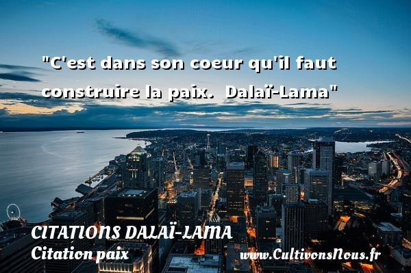 citations dalaï-lama