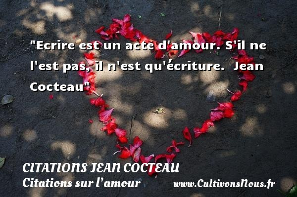 citations jean cocteau
